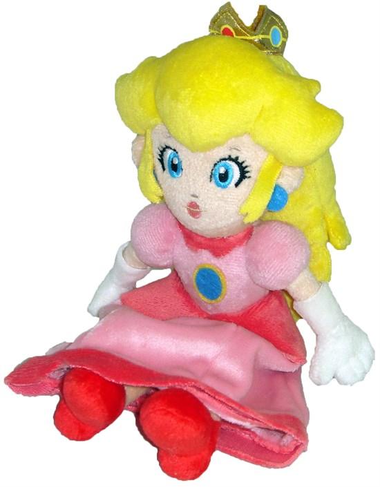 Super Mario - Plüschfigur Prinzessin Peach