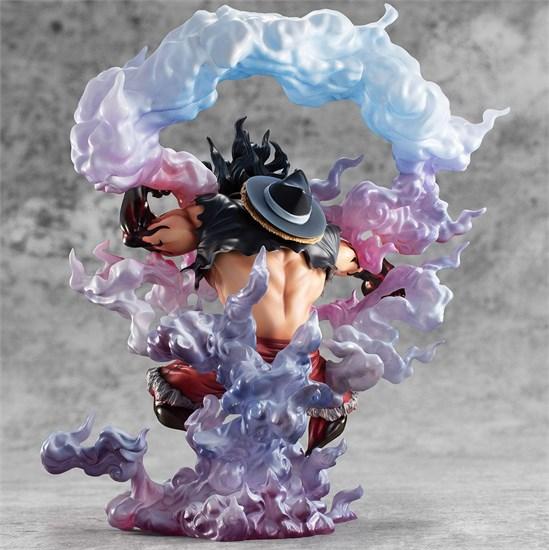 One Piece - Figur Monkey D. Ruffy Gear 4 Snake Man