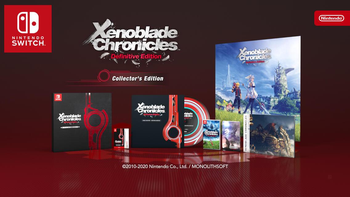 Xenoblade Chronicles: Definitive Edition Collector's Edition