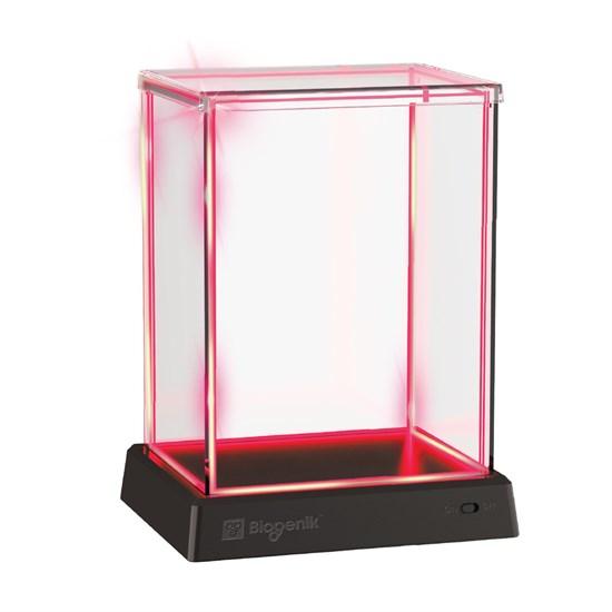 Glowbox Vitrine rot