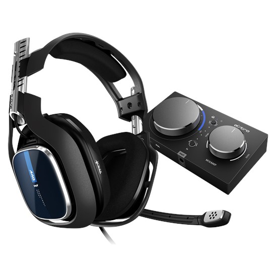 A40 TR Headset + MixAmp Pro TR für PS4™, Pc, Mac, Switch