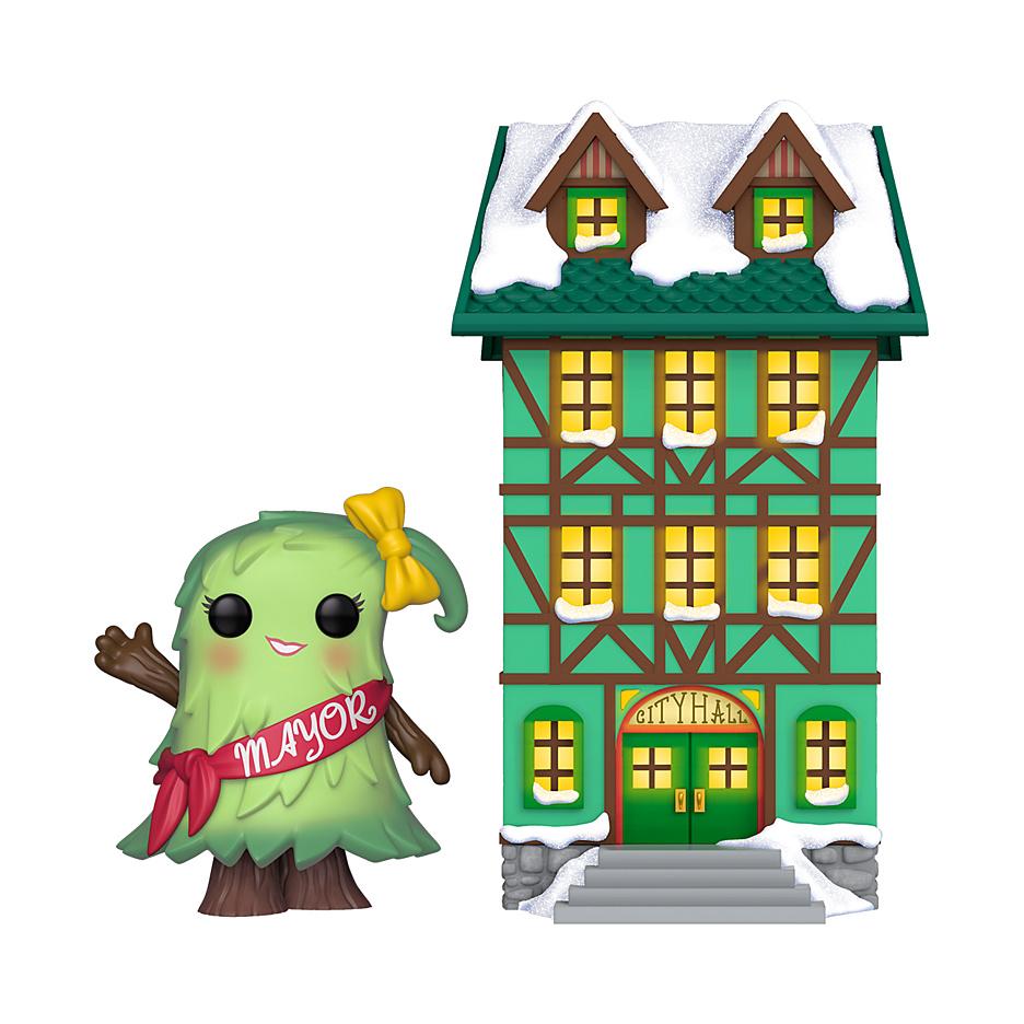 Holiday - POP!-Vinyl Figur Mayor Patty Noble with City Hall