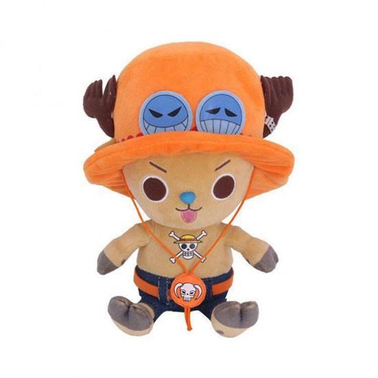 One Piece - Plüschfigur Chopper x Ace (groß)