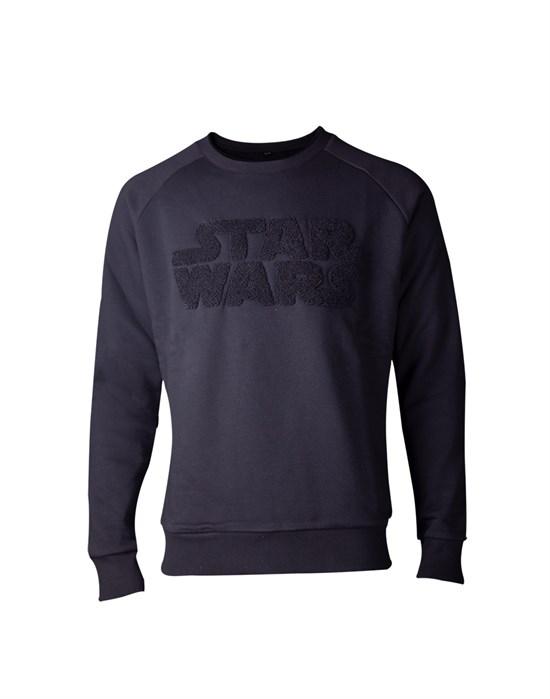 Star Wars - Sweater Logo Schwarz (Größe M)