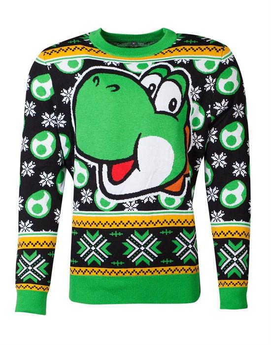 Super Mario - Xmas Sweater Yoshi (Größe M only online)