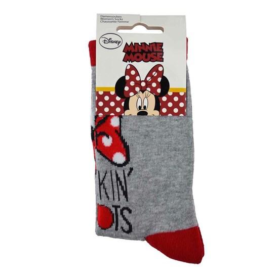 Disney - Socken Minnie Maus (Größe: 35-38)