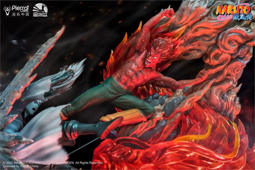 Naruto - Figur Might Guy vs. Uchiha Madara