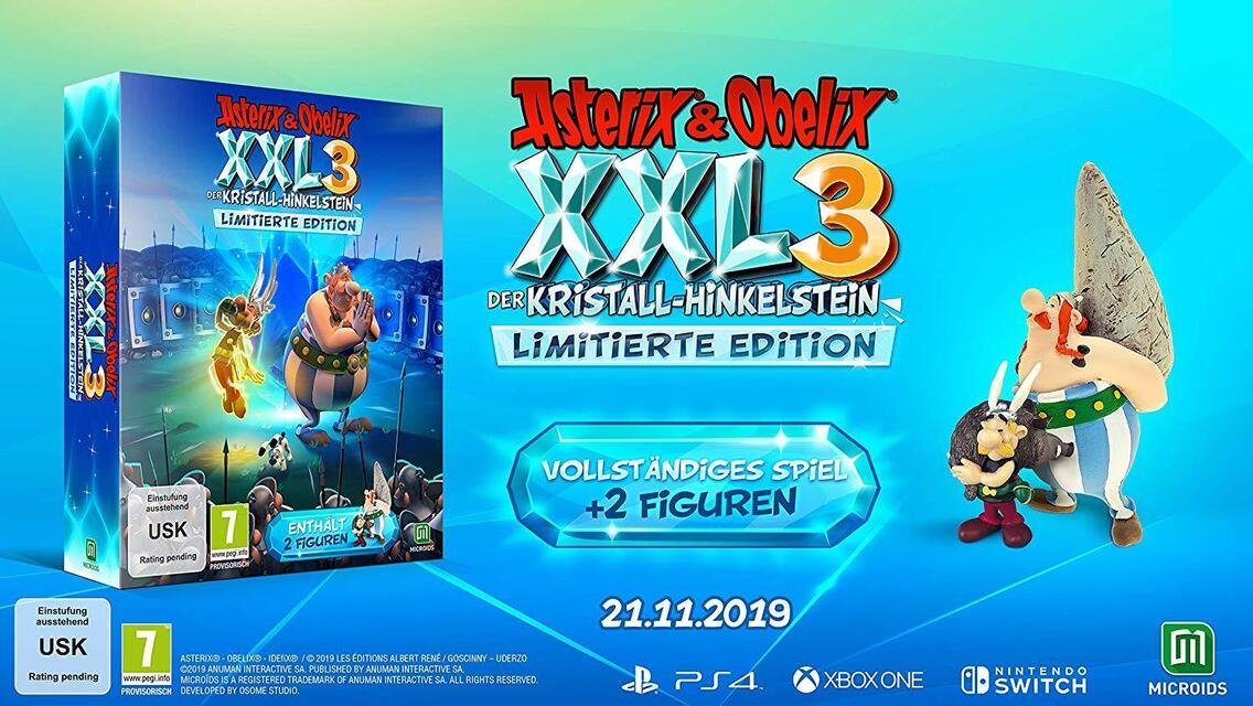 Asterix & Obelix XXL 3 Der Kristall-Hinkelstein Limited Edition