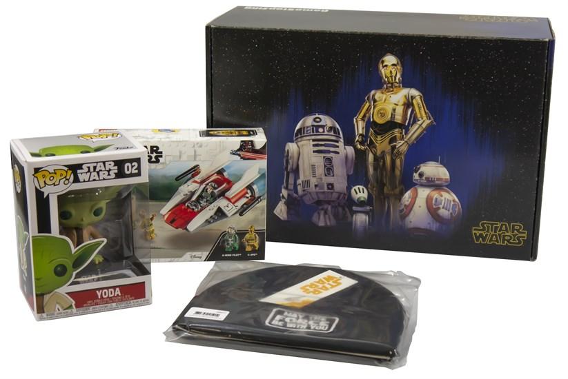 Star Wars - Box Helle Seite