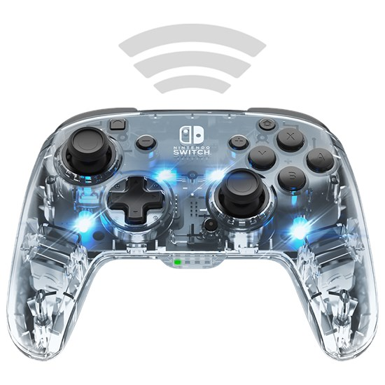 Nintendo Switch Afterglow Wireless Deluxe Controller (PDP)