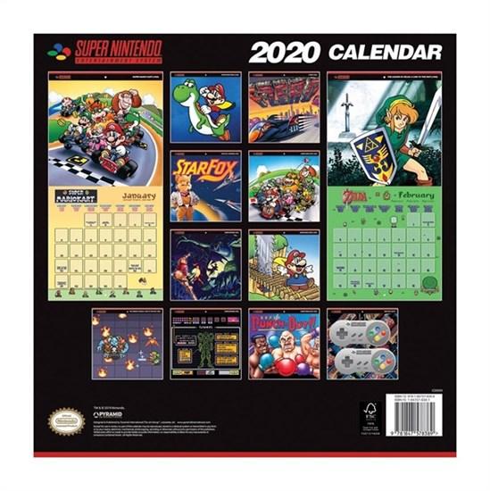 Super Nintendo - Kalender 2020