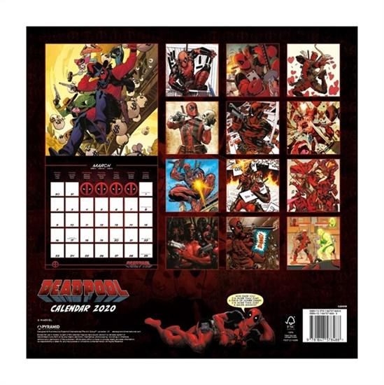 Deadpool - Kalender 2020