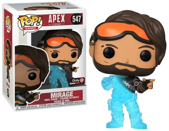 Apex Legends - POP!- Vinyl Figur Mirage (Hologramm)