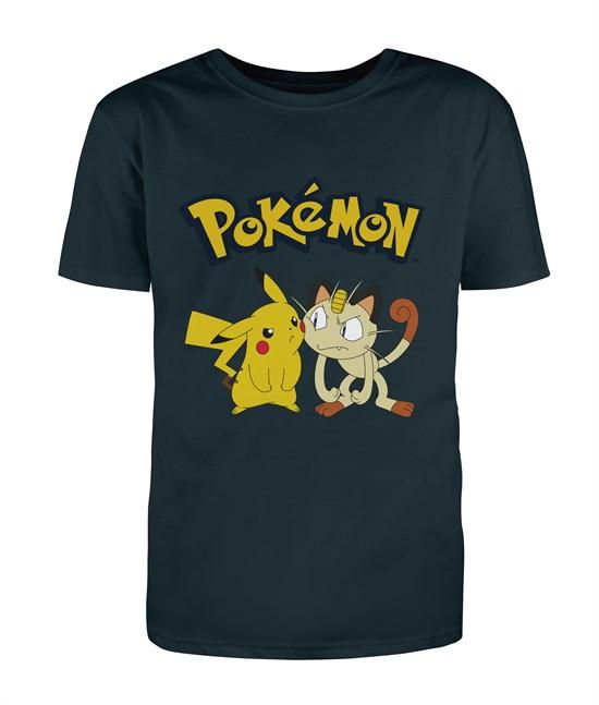 Pokémon - T-Shirt Miauzi & Pikachu (Größe L)