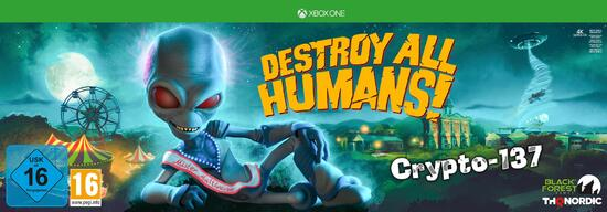 Destroy All Humans! Crypto-137 Edition (only online!)
