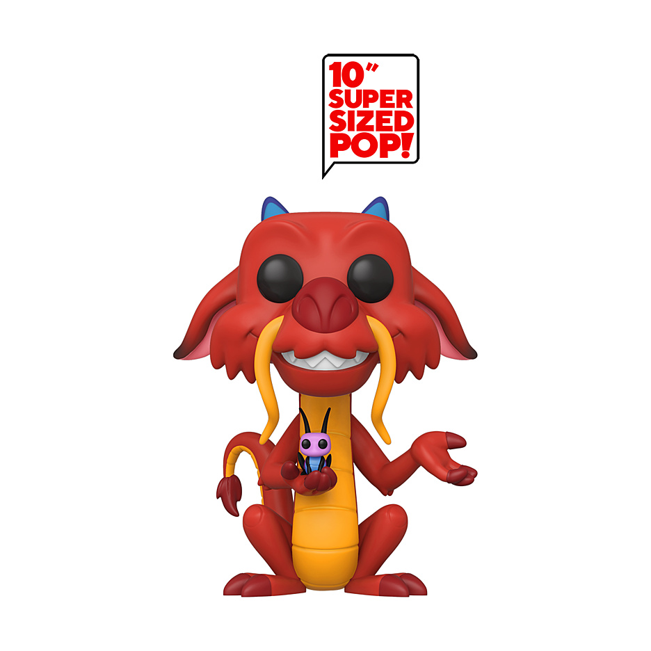 Mulan - POP!-Vinyl Figur Mushu (Super sized)