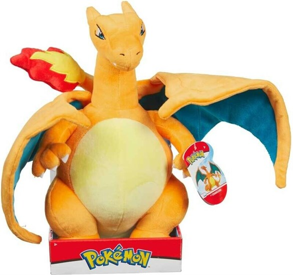 Pokémon - Plüschfigur Glurak