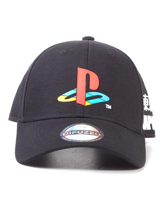 Playstation - Curved Bill Cappy Logo