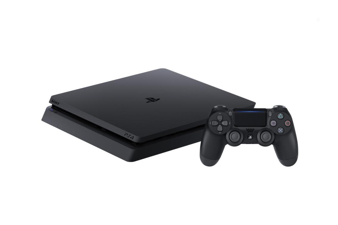 PlayStation 4 Slim 1 TB Konsole ink. Fifa 20 und 2ter Dualshock Controller