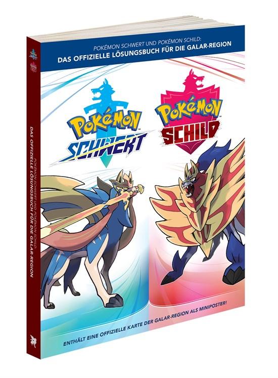 Pokémon Schwert und Pokémon Schild Das offizielle Lösungsbuch für die Galar Region