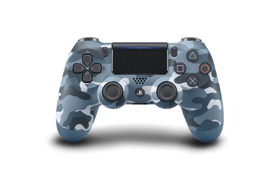 PS4 Dualshock 4 Controller Blue Camouflage