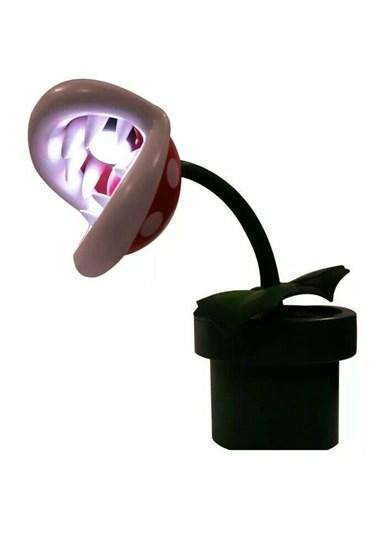 Super Mario - Lampe Piranha-Pflanze