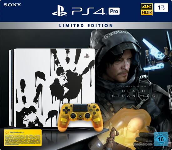 PlayStation 4 Pro 1TB Konsole Death Stranding Limited Edition (Warehouse-Ware)