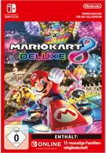 Mario Kart 8 Deluxe + 12 Monate Nintendo Switch Online [Code-DE]