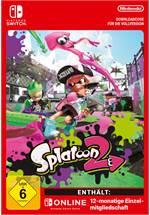 Splatoon 2 + 12 Monate Nintendo Switch Online [Code-DE]