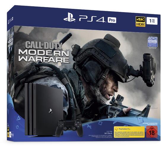 PlayStation 4 Pro 1 TB Konsole inkl. Call of Duty: Modern Warfare