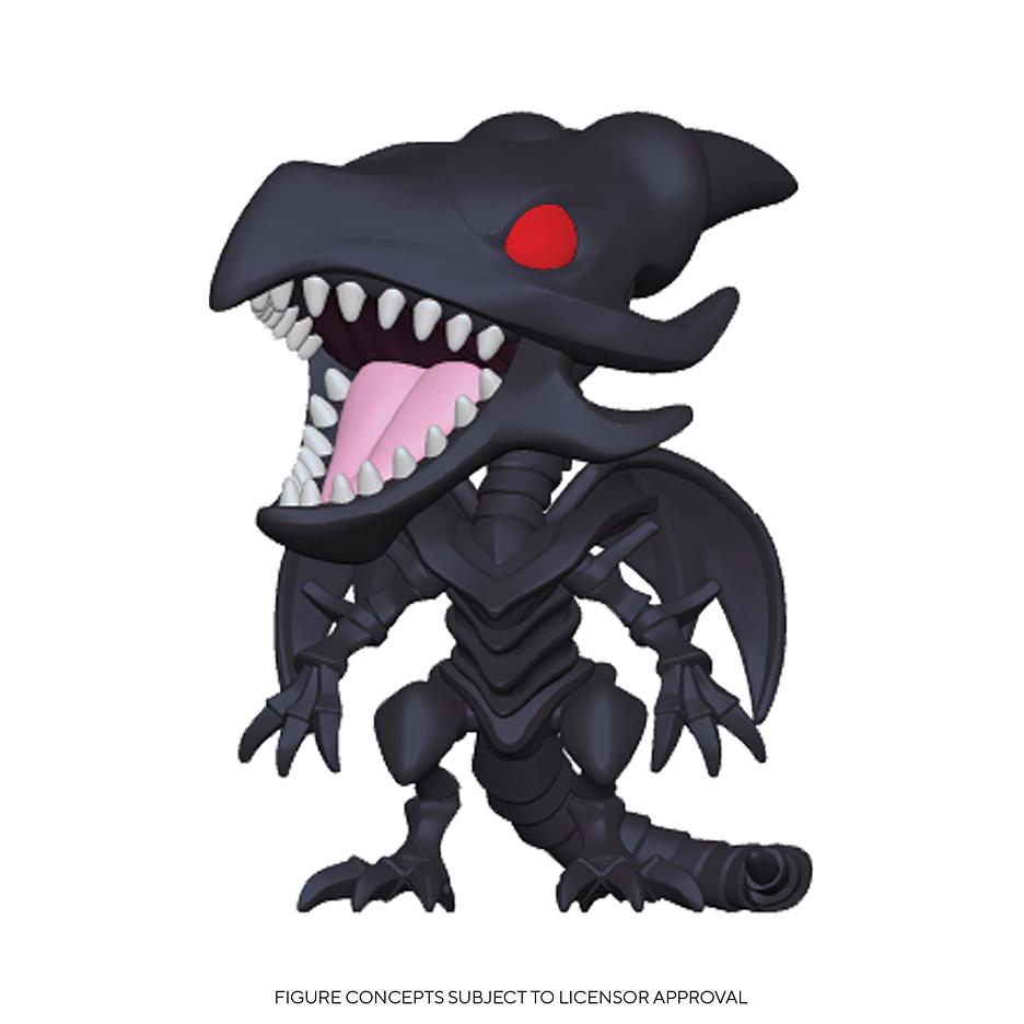 Yu-Gi-Oh! - POP!-Vinyl Figur Rotäugiger Schwarzer Drache