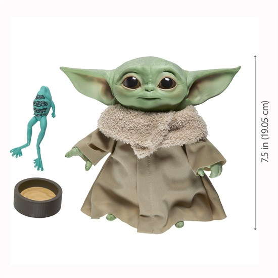 Star Wars: The Mandalorian - Plüschfigur mit Sprachfunktion Baby Yoda