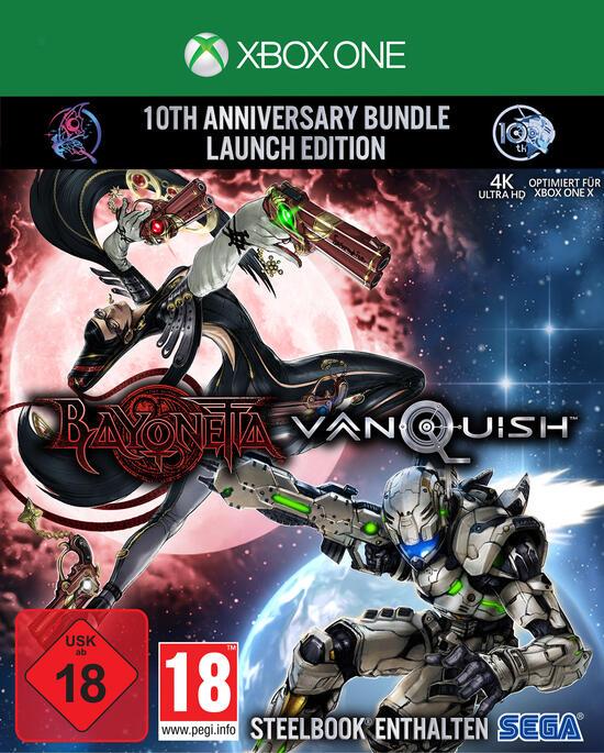 Bayonetta & Vanquish 10th Anniversary Bundle Limited Edition