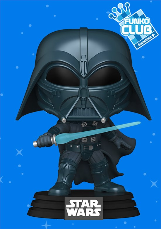 Star Wars - POP!-Vinyl Figur Darth Vader (Funko Club exklusiv!)