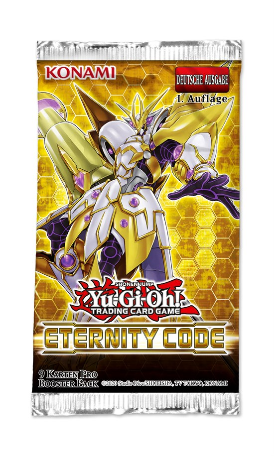 Yu-Gi-Oh! - Eternity Code Booster Pack - Deutsch