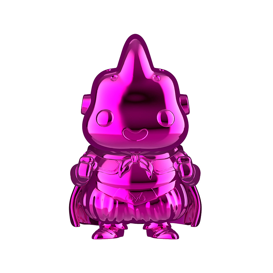 Dragon Ball Z- POP! Vinyl Figur Majin Buu Purple Chrome (Exklusiv bei GameStop!)