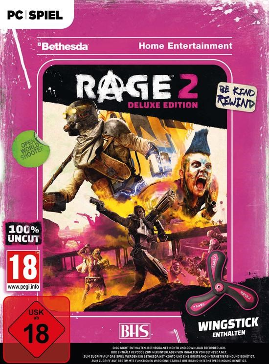 RAGE 2 Wingstick Deluxe Edition (Warehouse Ware)