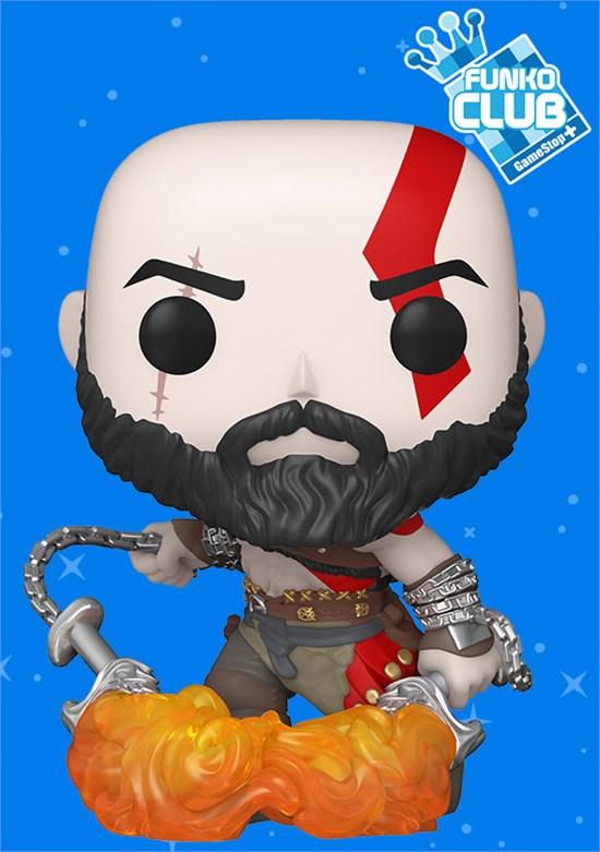 God of War - POP!-Vinyl Figur Kratos (Funko Club exklusiv!)