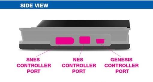 Retron 5 grau - GBA/SNES/NES/MEGADRIVE/FAMICOM (Warehouse Ware - top)