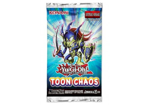 Yu-Gi-Oh! Trading Card Game: Toon Chaos Booster Pack - Deutsch