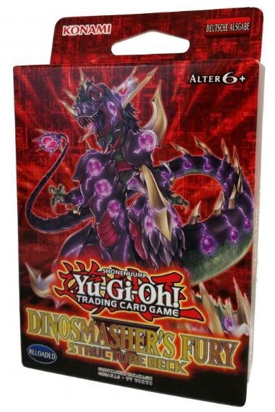 Yu-Gi-Oh! Trading Card Game: Structure Deck: Dinosmasher's Fury Reprint