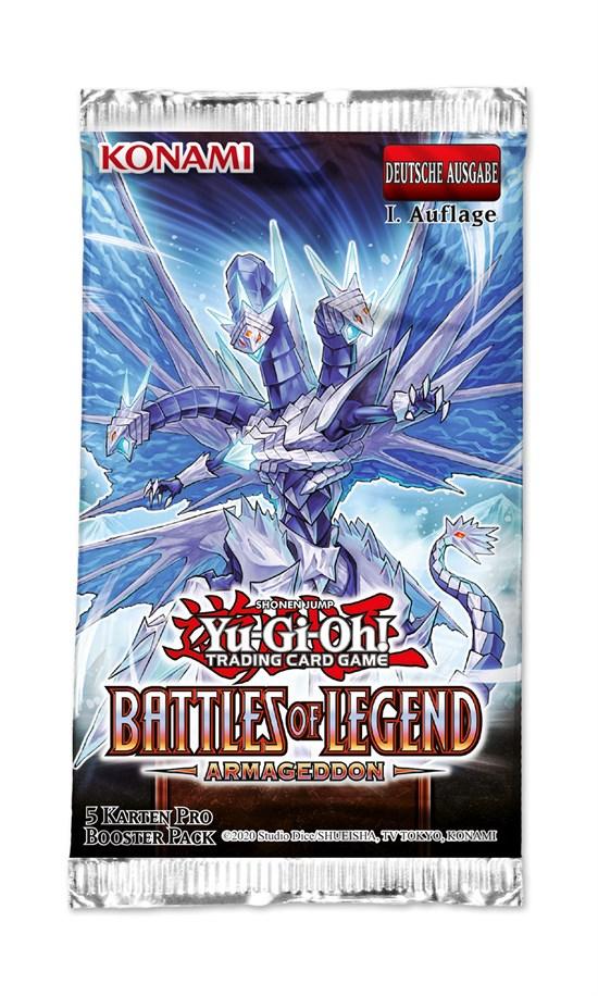Yu-Gi-Oh! Trading Card Game: Battles of Legends Armageddon Booster - Deutsch