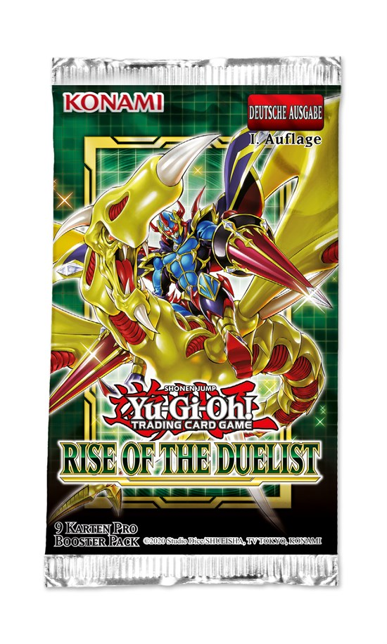 Yu-Gi-Oh! Trading Card Game: Rise of the Duelist Booster - Deutsch