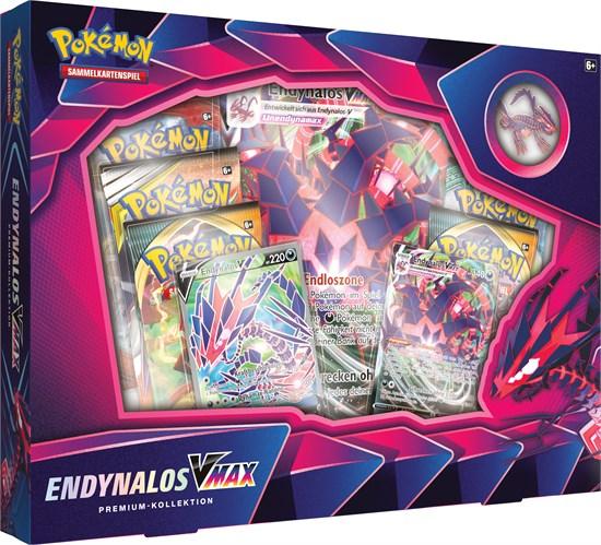 Pokémon Sammelkartenspiel: Endynalos VMAX Premium-Kollektion