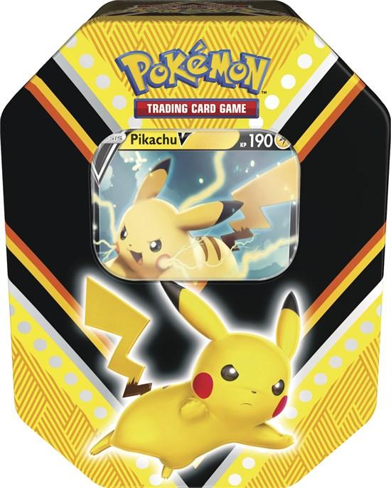 Pokémon Sammelkartenspiel: Pikachu-V Tin 88