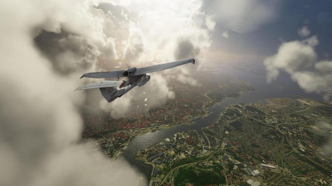 MS Flight Simulator Premium Deluxe Edition