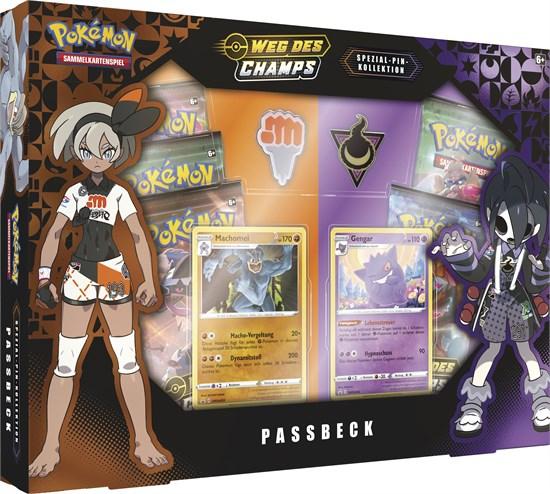Pokémon Sammelkartenspiel: Schwert & Schild 3.5 Spezial Pin Passbeck/Circhester (zufällige Auswahl)