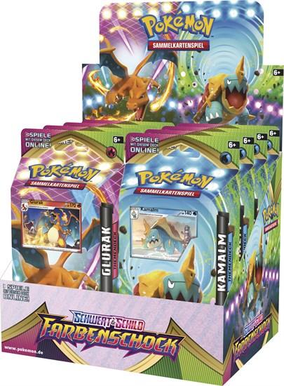 Pokémon Sammelkartenspiel: Schwert & Schild 04 Farbenschock Themendeck (zufällige Auswahl)
